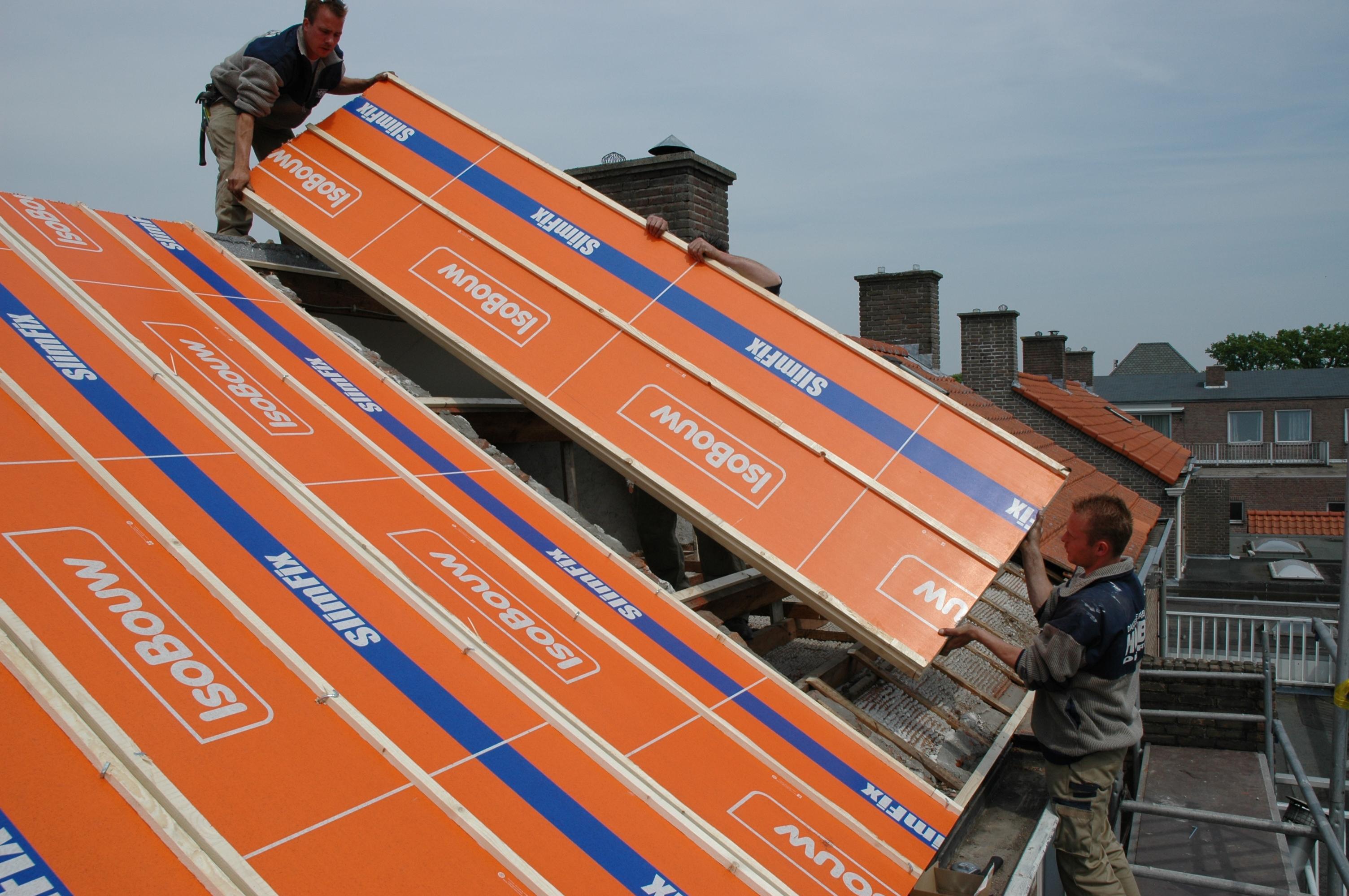 Garage Isoleren Prijs : Hellend dak isoleren isobouw innovatie in isolatie