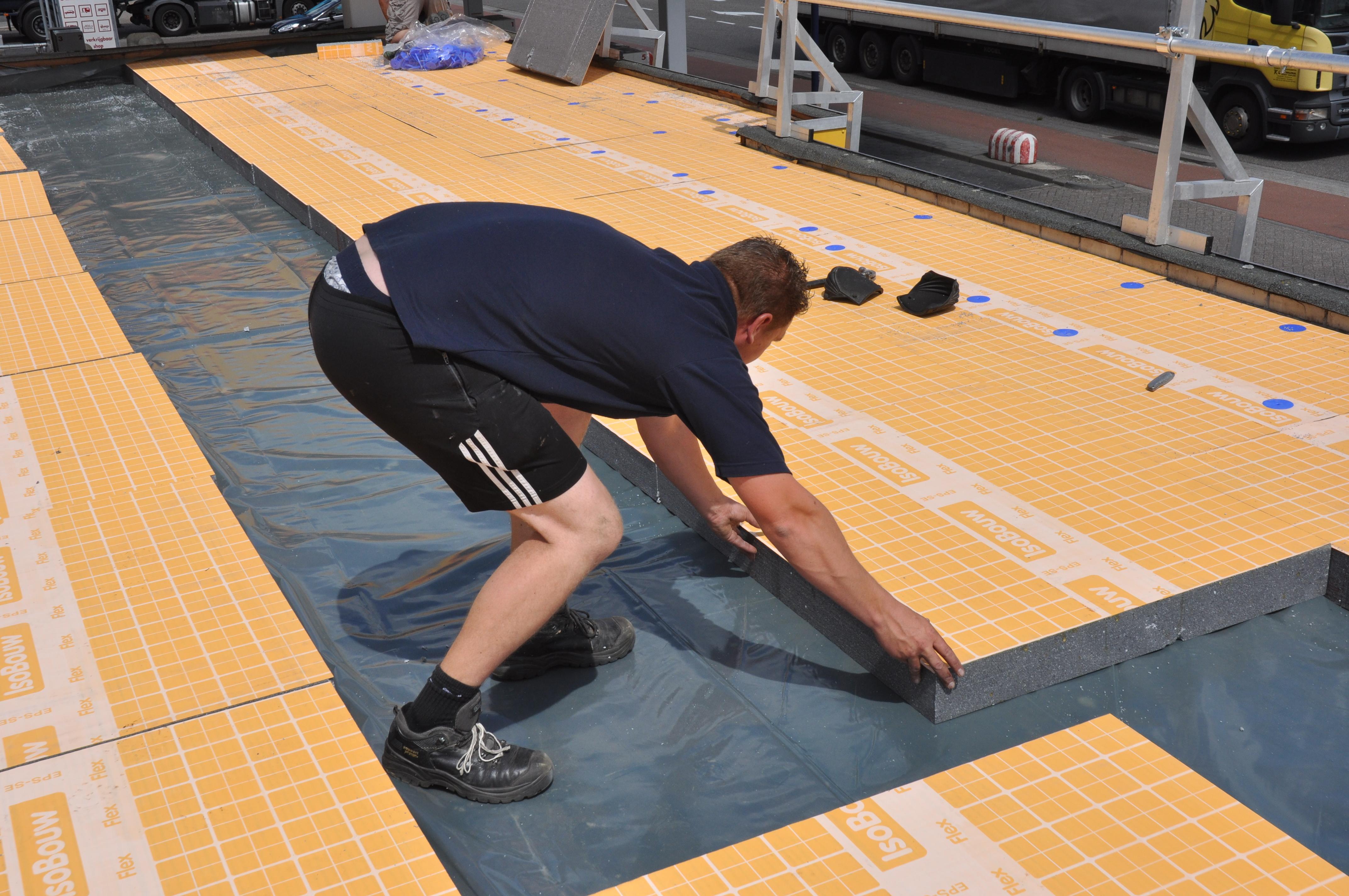 Ongekend Plat dak isoleren | IsoBouw: innovatie in isolatie HU-51